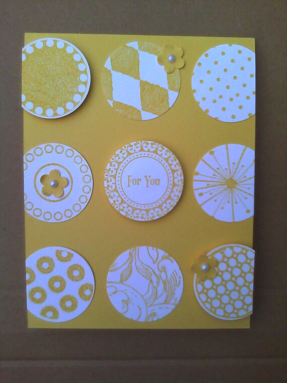 Handmade For You Greeting Card
