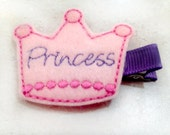 Girls Princess Hair Clip for Baby Toddler or Adult