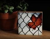 Bamboo Block, Leaves, Fall, wall art, urban, print, photography, original, clouds, living room, NW, tree, autumn