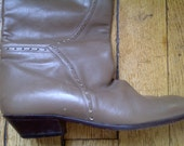 Italian leather boots Size 40