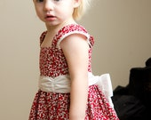 Girl's Dress Pattern PDF Sewing - The Melanie Dress Size 18m-5T