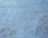 608015 - Hand dyed Batik Fabric  - (sold by the yard) - Blue & Brown
