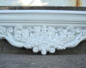 White Victorian Ledge Shelf