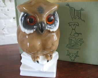 Vintage Owl Figure - West Germany