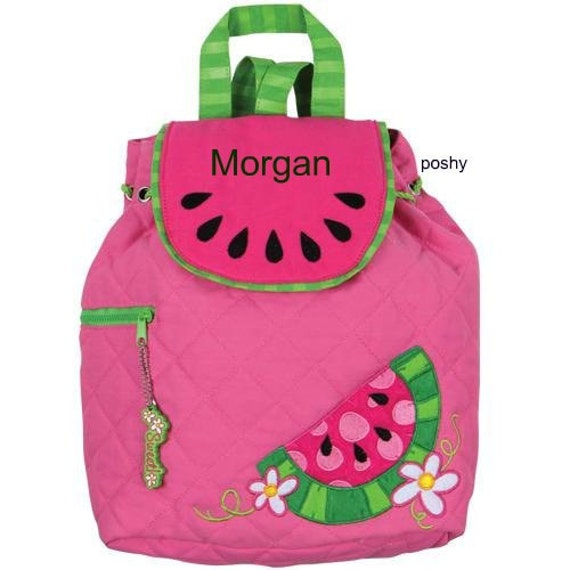 Personalized Girls Backpack or Baby Diaper by StephenJosephByPoshy