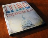 Lying congressional style A5 Notebook
