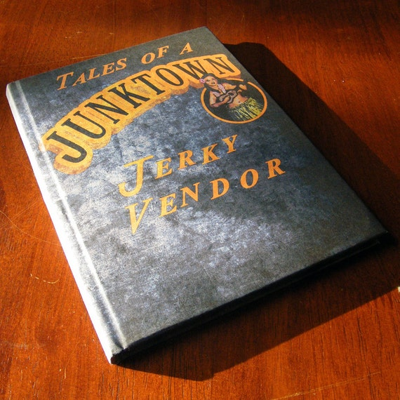 Tales of a Junktown Jerky Vendor A5 Notebook