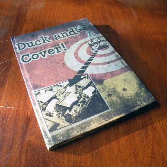 Duck and cover A5 Notebook