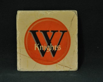 Wartburg Coasters set of 4 handcrafted