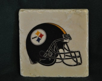 Pittsburg Steelers Coasters Set of 4 handcrafted