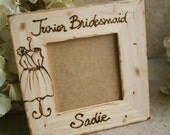 Junior Bridesmaid Thank You Gift Special Keepsake for your Bridal Party Rustic Chic