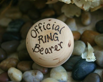 Ring Bearer Wedding Gift Toy Yo Yo for your Little Official Boy for Rustic Chic Wedding