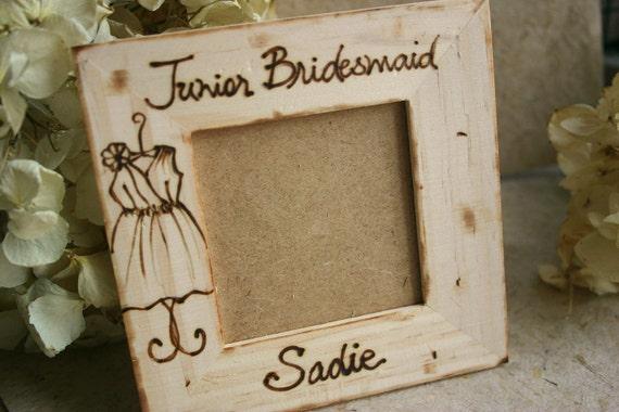 Wedding Gift Ideas For Junior Bridesmaids : Junior Bridesmaid Thank You Gift Special Keepsake for your Bridal ...