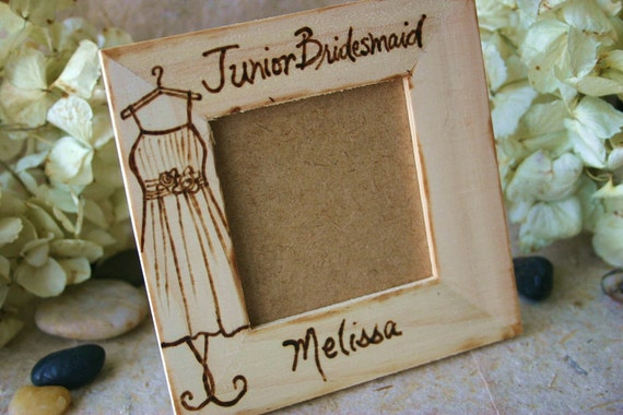 SET of 4 Bridal Party Favors for Flower Girls Junior Bridesmaids Ring Bearers Sign Bearer Page Boy Rustic Chic Wedding