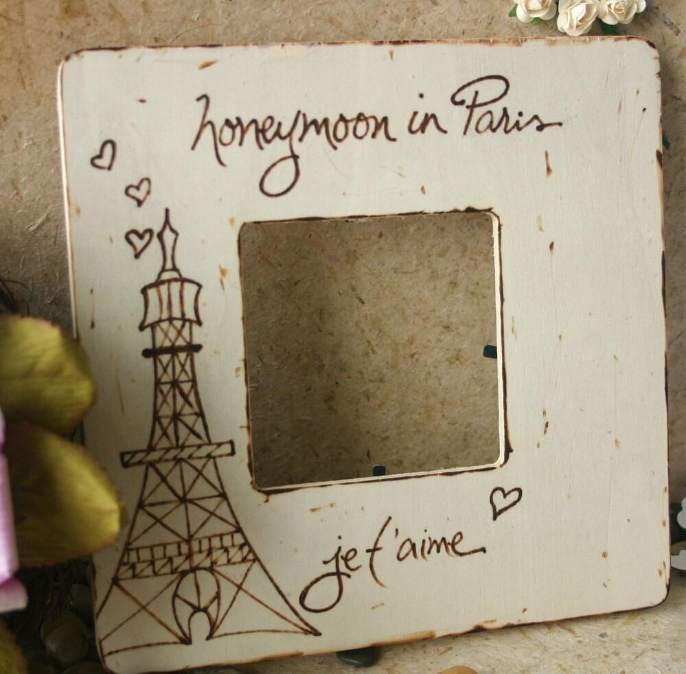 Honeymoon Wedding Gift: Wedding Gift Honeymoon In Paris Custom Honeymoon By