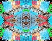 Papel Picado Mexican Folk Art Abstract Photograph 16x20 special price
