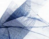 photography, prayer flags, photography set, contemporary, minimalist, ethereal, blue, peace - Prayer Flags set three 8x8 art photos print