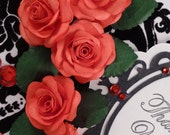 Regal Rose SVG Cut Files, PDF Templates, and Instructional video for making handmade paper roses