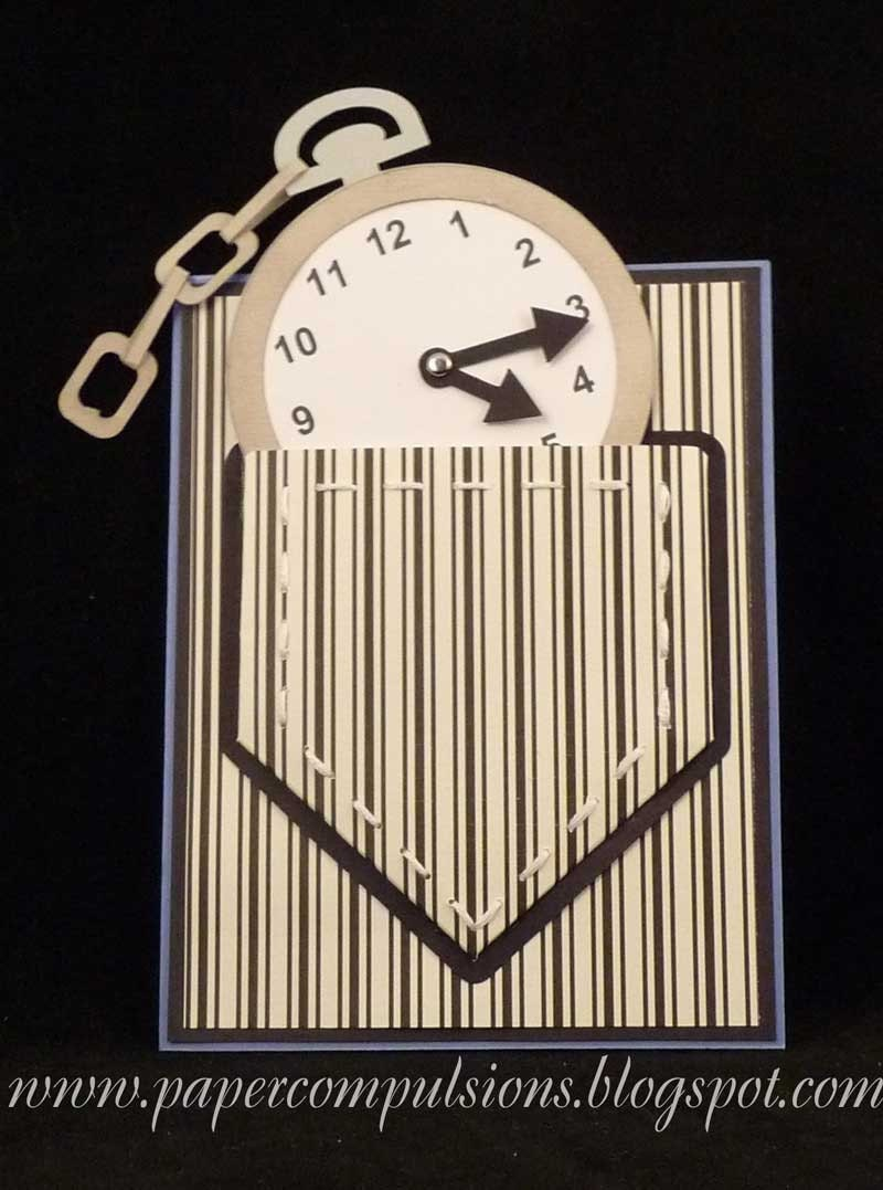 File Cards 10 Heart Svg: Pocket Watch Card With Pocket SVG's Cut Files And