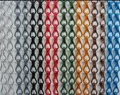 Chain Link  Door Fly Screen - Gunmetal color,help for fly problems,Elegant looking
