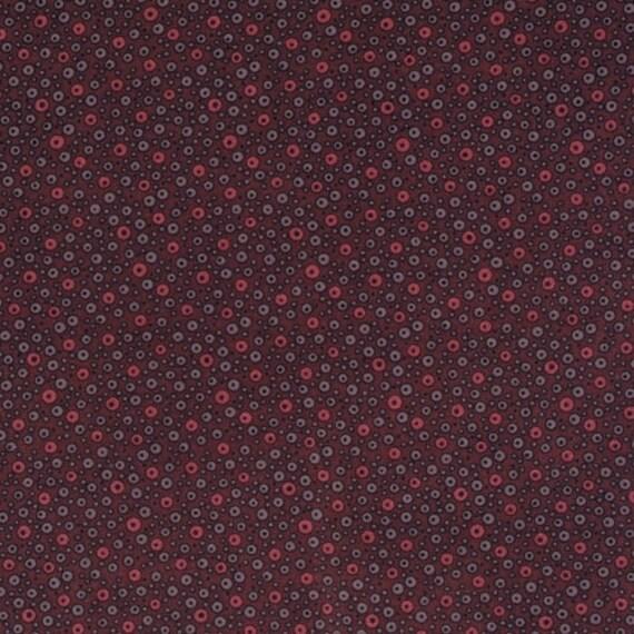 SALE - Fizzy Dot from Flea Market Fancy by Denyse Schmidt, Red, 100% cotton, 1/2 yard