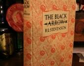 "Vintage Book ""The Black Arrow"" by Robert Louis Stevenson"