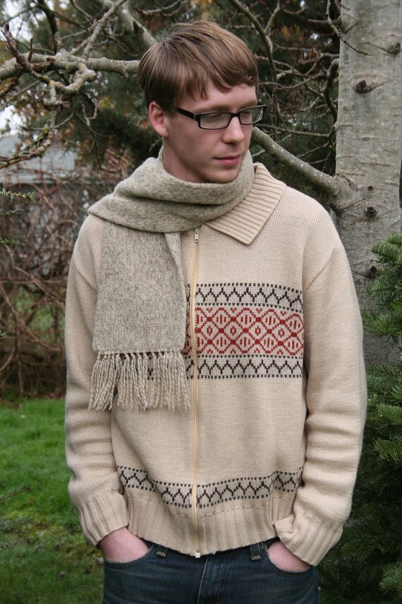 Men's Vintage 1970's Sweater