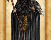 Santa Muerte Prayer Card