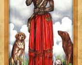 Papa Legba Prayer Card