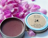 Rose Petal Body Salve, organic and home grown & harvested