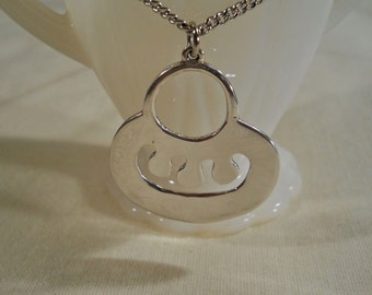 Alva Pendant with Sterling Silver Chain