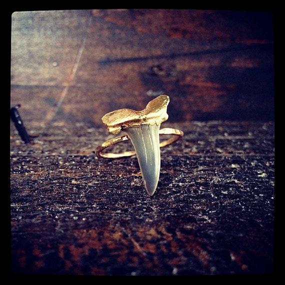 Mini Shark Tooth Ring