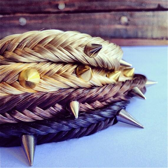 Braided Spike Headbands
