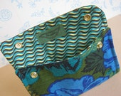 Vintage Upholstery fabric Wallet/Clutch