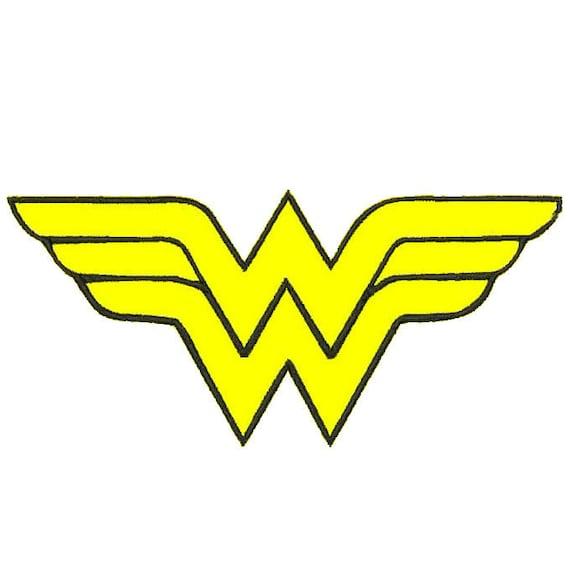 Superhero Applique Embroidery Design