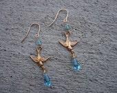 Sparrow Swarovski Earrings