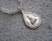 Buddha Quartz Necklace