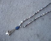 Tibetan & Pearl Necklace