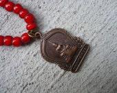 Buddha White Heart Necklace
