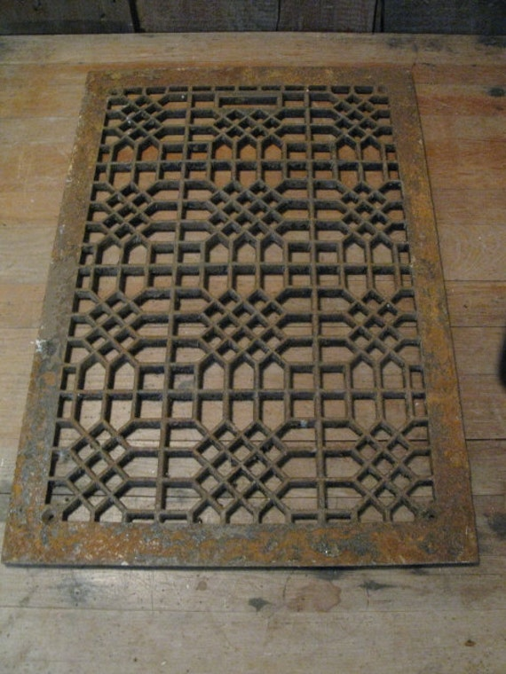 Decorative Metal Floor Grate