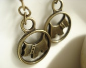 Dog Earrings - Bronze DE147