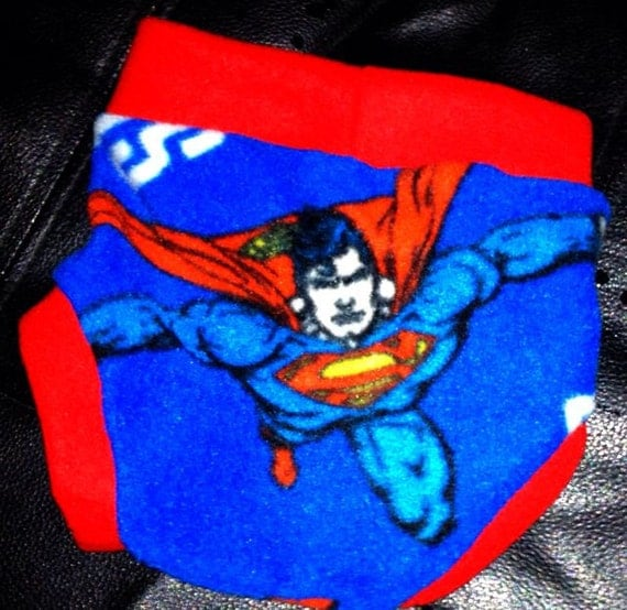 Superman Fleece Soaker