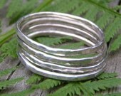 Stacking Ring - Simply Silver, set of 4