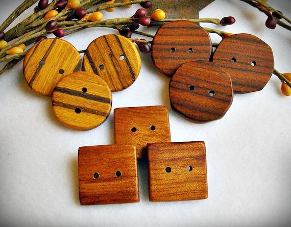 Handmade Buttons - Mixed Lot