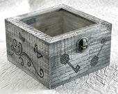 Treasury Love Box with Window .