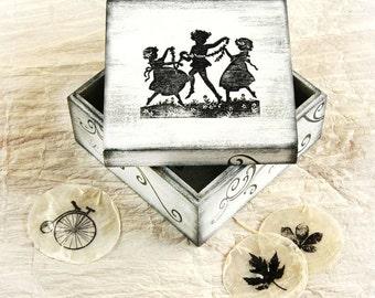 Vintage box, Treasury  Box,  Jewelry box , ohtteam