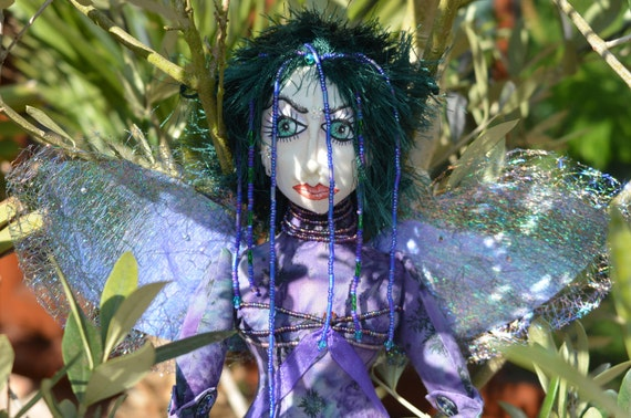 Fairy Doll - OOAK Collectors Beaded Art Doll