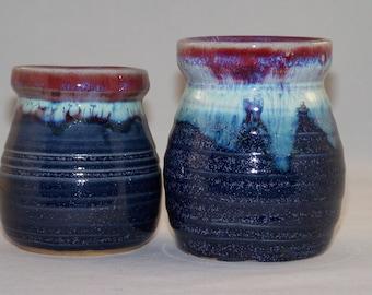 Speckled Moonlight Sun Valley Jar set
