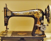 Antique Singer Model 27 Sewing Machine