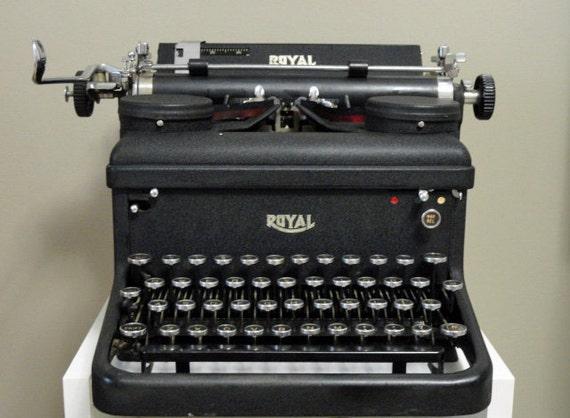 dating royal typewriter serial numbers